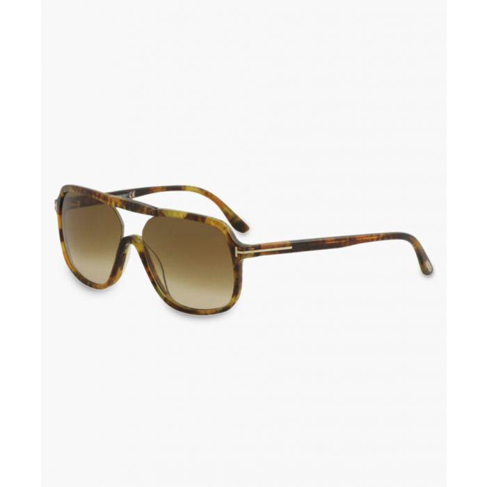 Image for Robert yellow havana aviator sunglasses