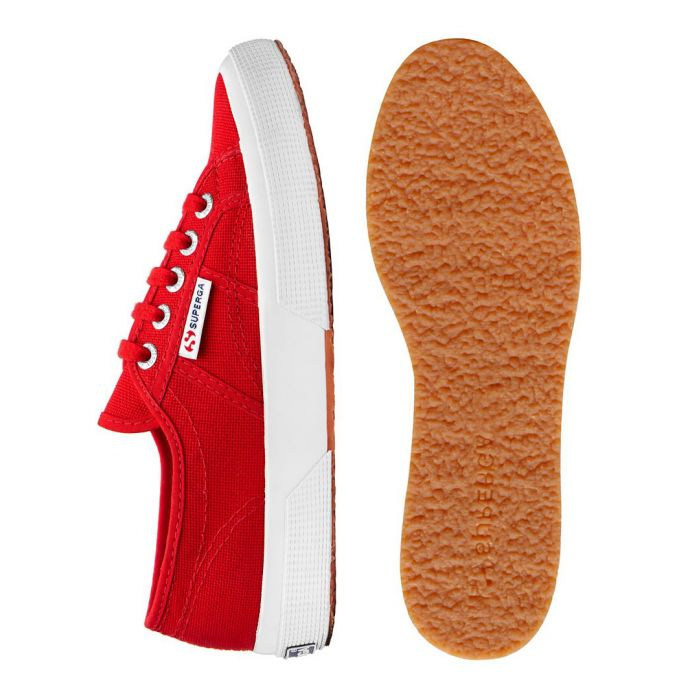 Image for Red & white sneakers