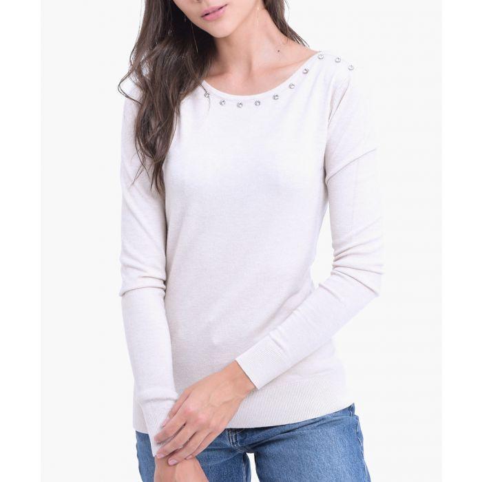 Image for Natural cashmere blend jumper
