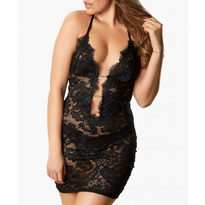 Image for Kady black chemise