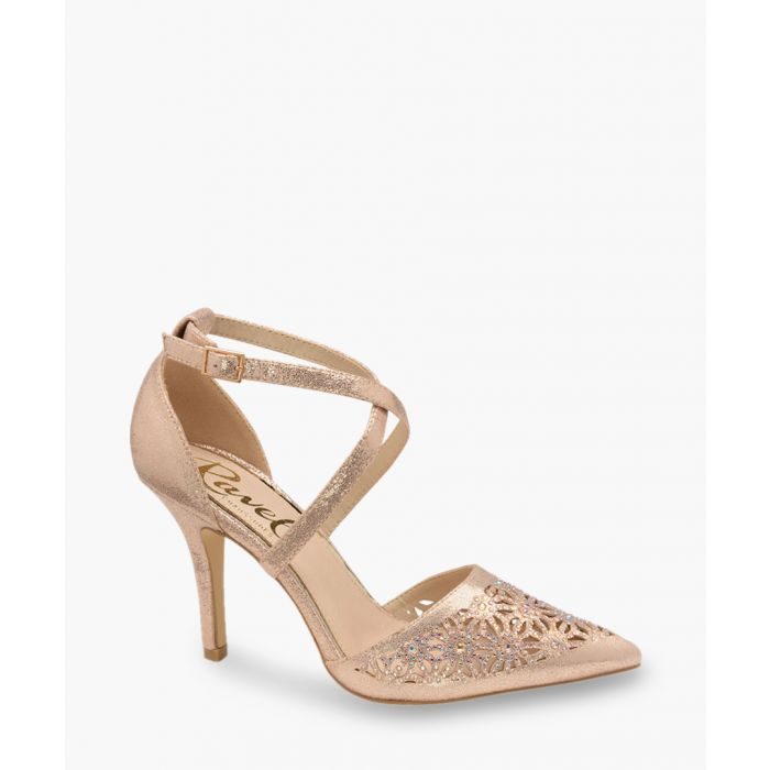Image for Rose gold-tone heels