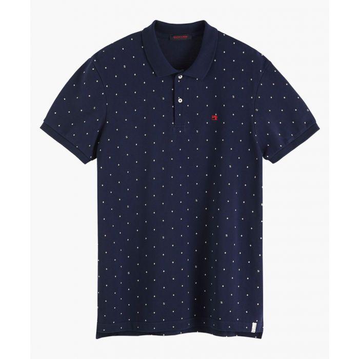 Image for Multi-coloured cotton pique polo shirt