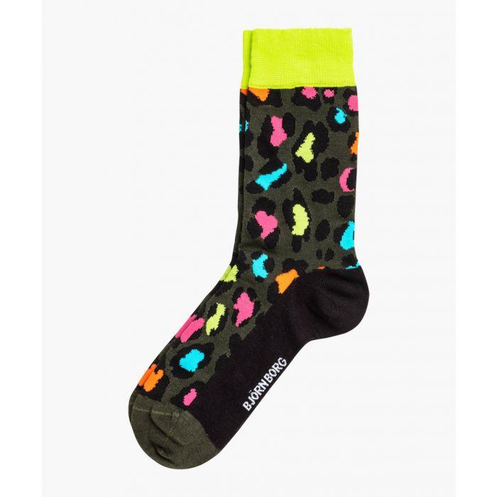 Image for Energy Leo multi-coloured ankle socks
