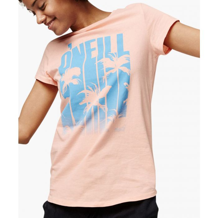 Image for Blush pure cotton graphic T-shirt