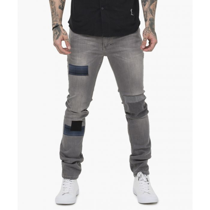 Image for Washed grey cure jeans