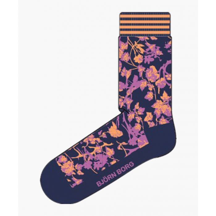 Image for Rose Garden multi-coloured socks