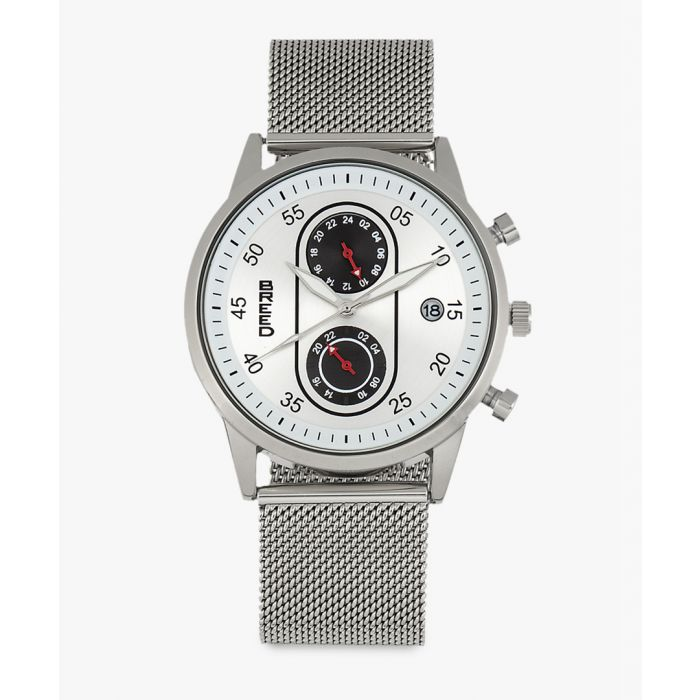 Image for Andreas leather chronograph watch