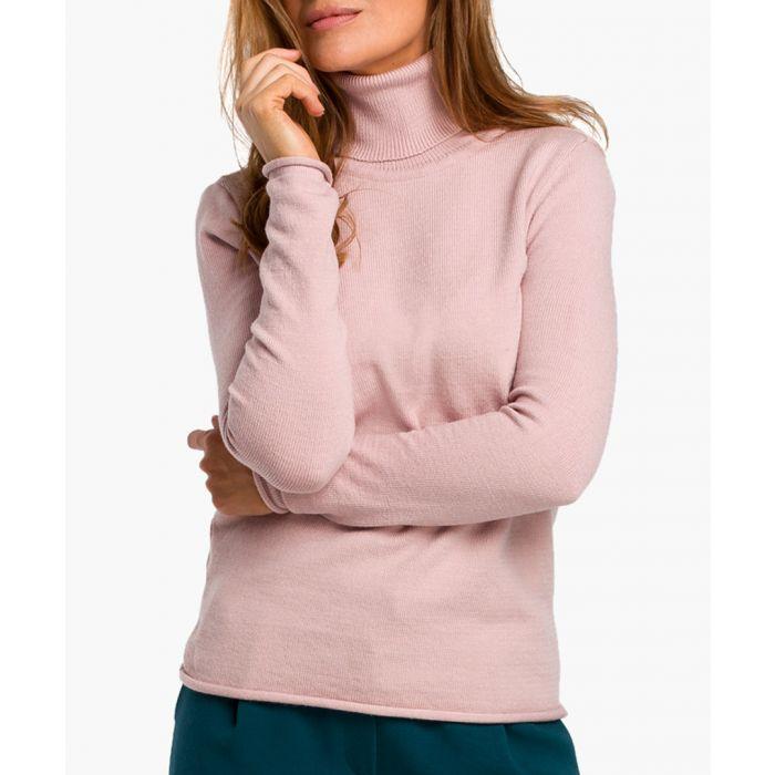 Image for Stylove pink turtleneck jumper