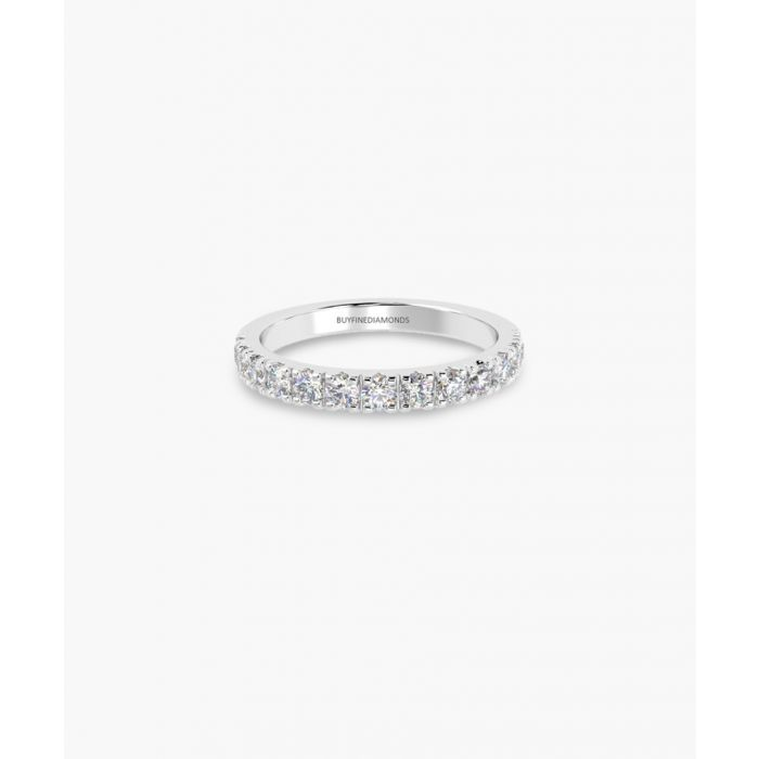 Image for Platinum half eternity ring