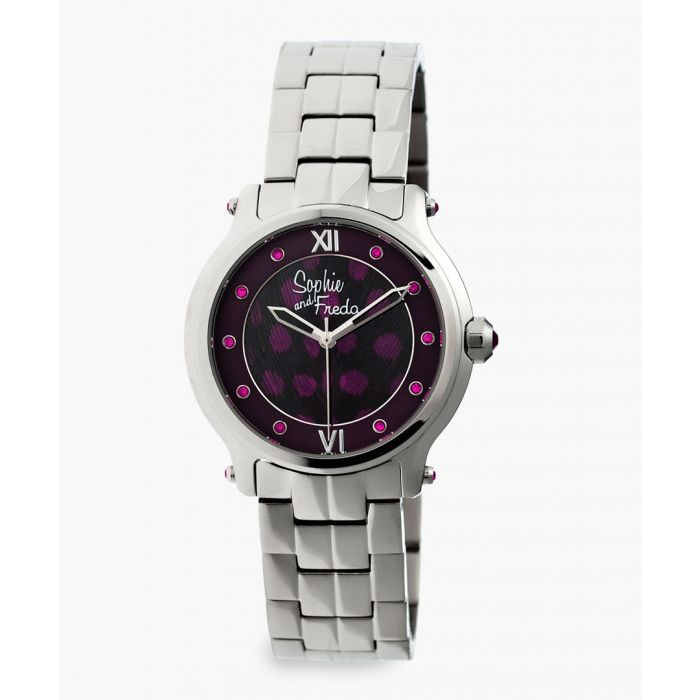 Image for Siena silver-tone watch
