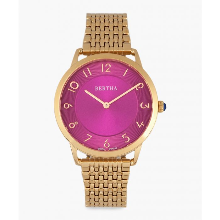 Image for Abby rose gold-tone watch