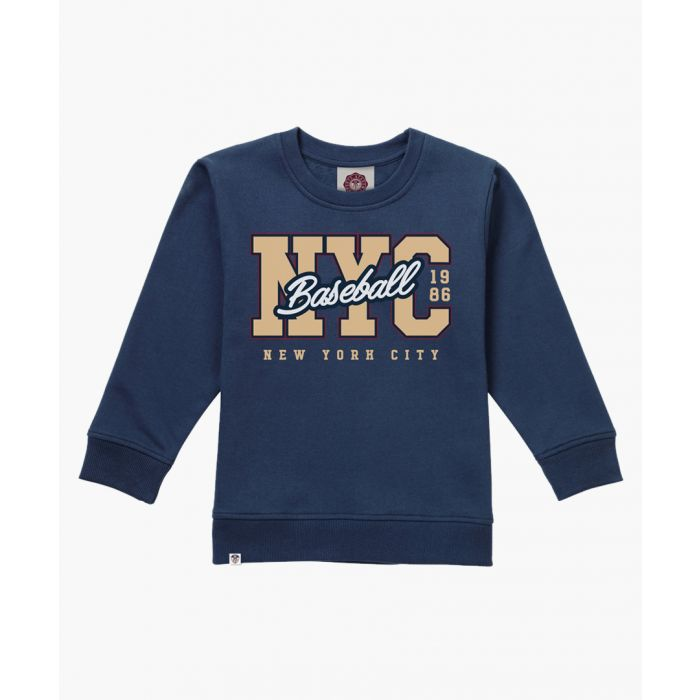Image for Navy varsity sweater
