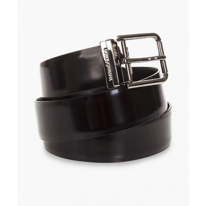 Image for Black classic buckle belt