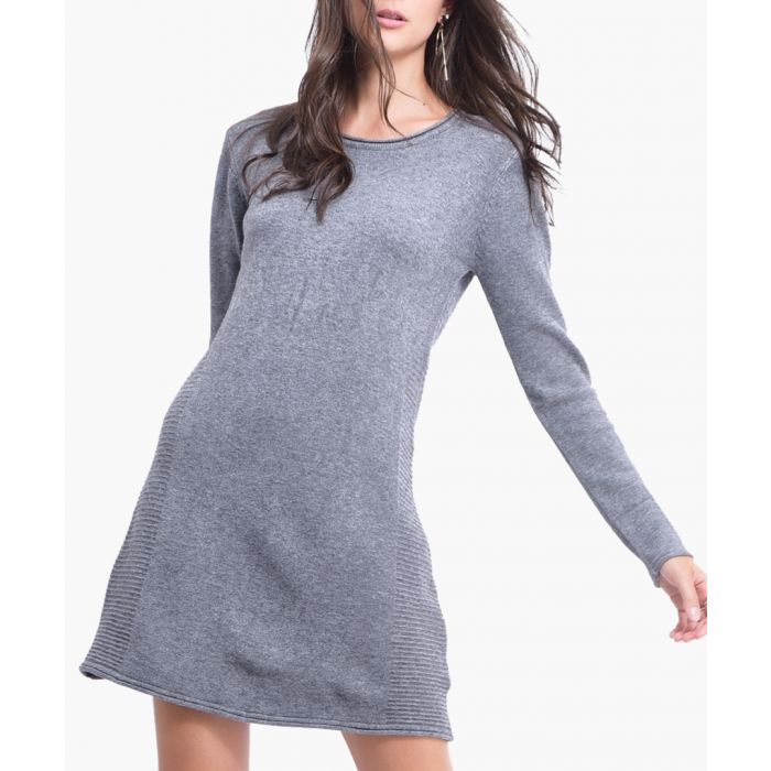 Image for Grey cashmere blend tunic