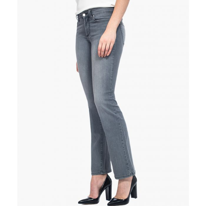 Image for Marilyn straight pearl grey jeans