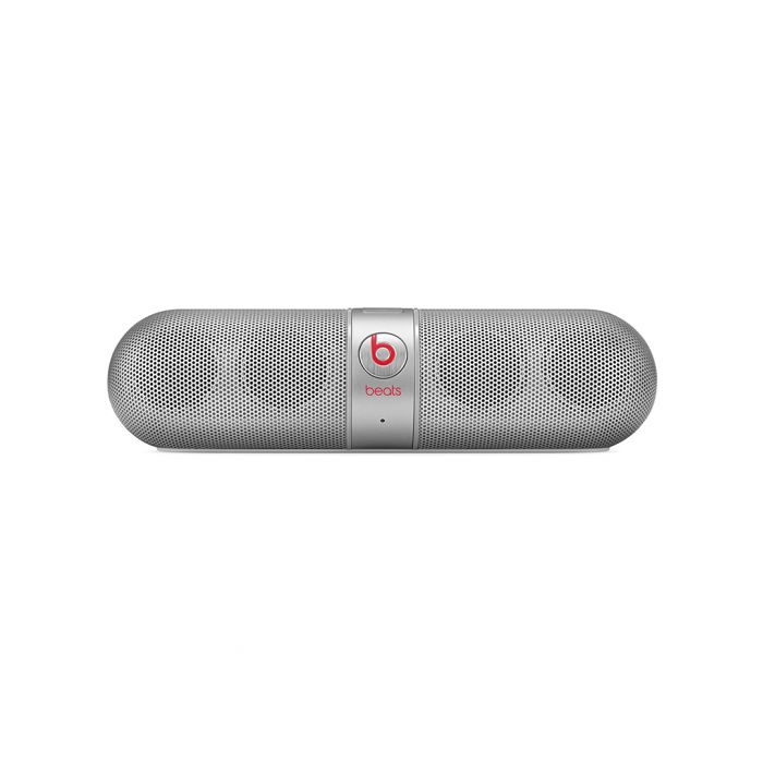 Image for Pill 2.0 silver-tone bluetooth speaker