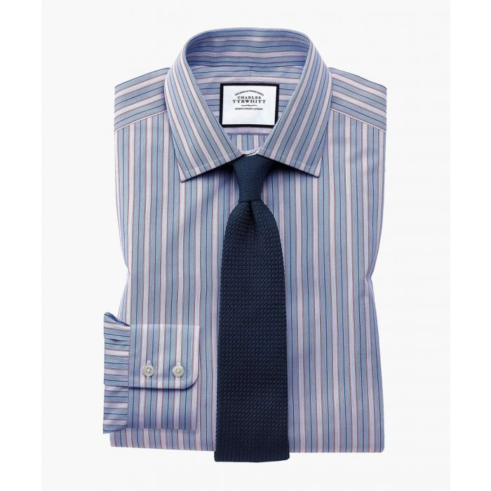 Image for Multi-coloured Egyptian cotton slim fit shirt