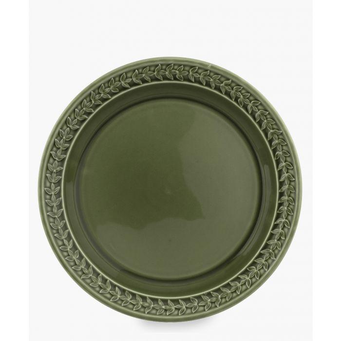 Image for 4pc Botanic Garden Harmony forest green plate set
