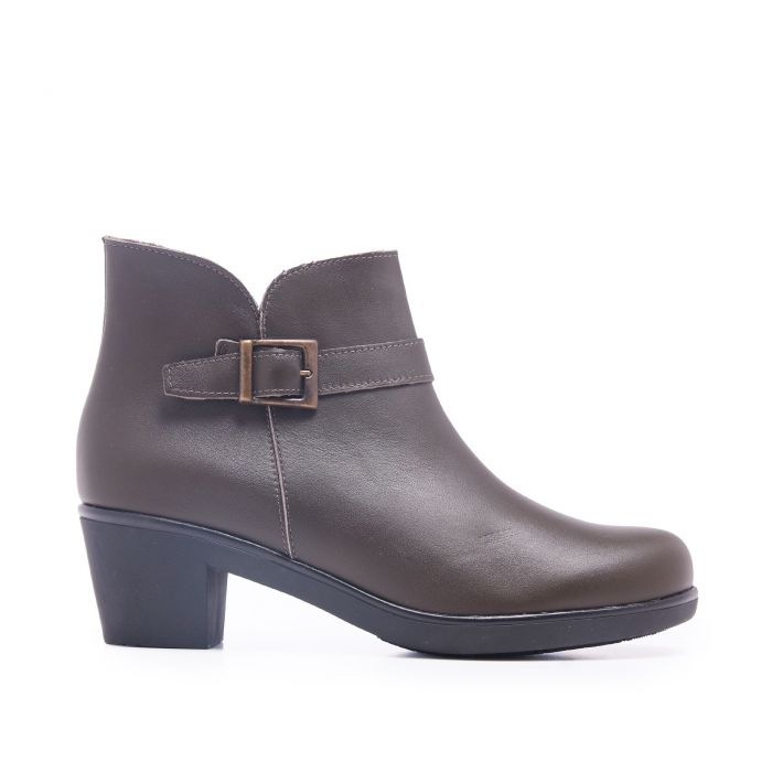 Image for Leather Booties for Women Castellanisimos