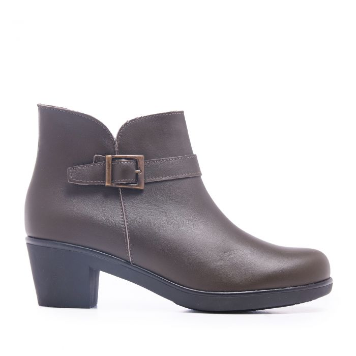 Image for Womens brown leather boots