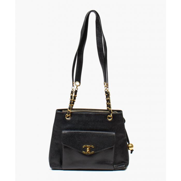 Image for Vintage black tote