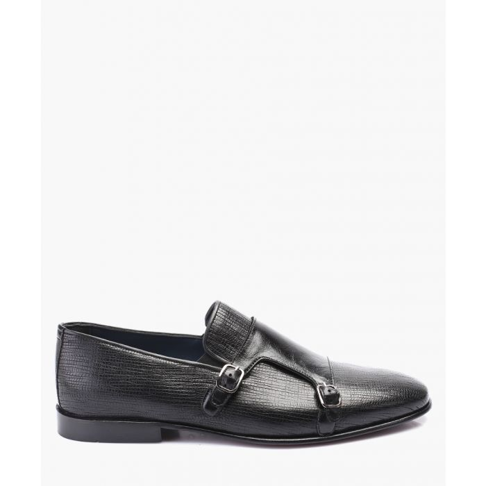 Image for Black leather Oxford shoes