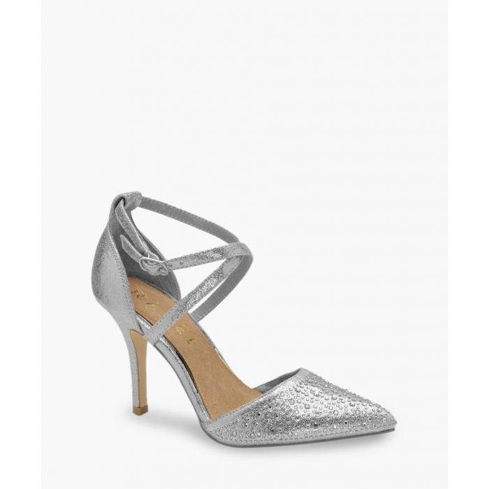 Image for Silver-tone heels