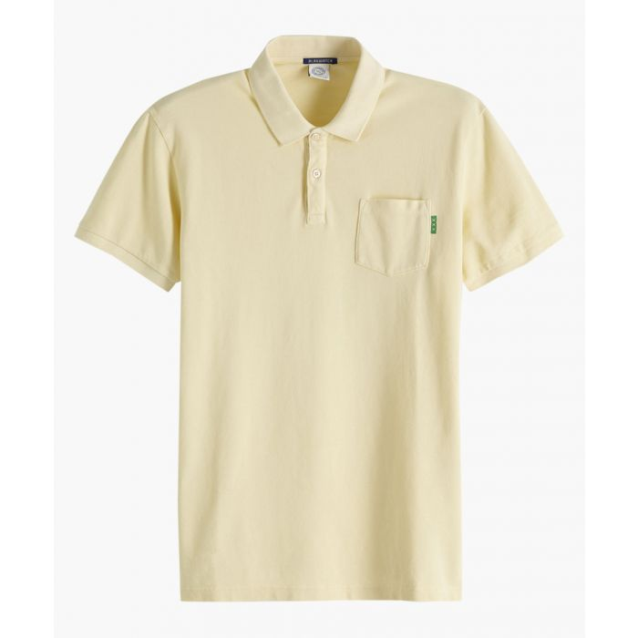 Image for Sunbleached yellow polo shirt