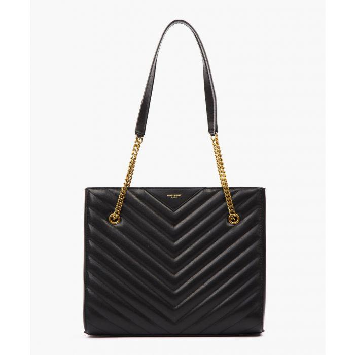 Image for Tribeca quilted leather shoulder bag