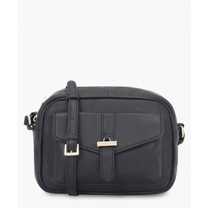 Image for Imperia black leather crossbody