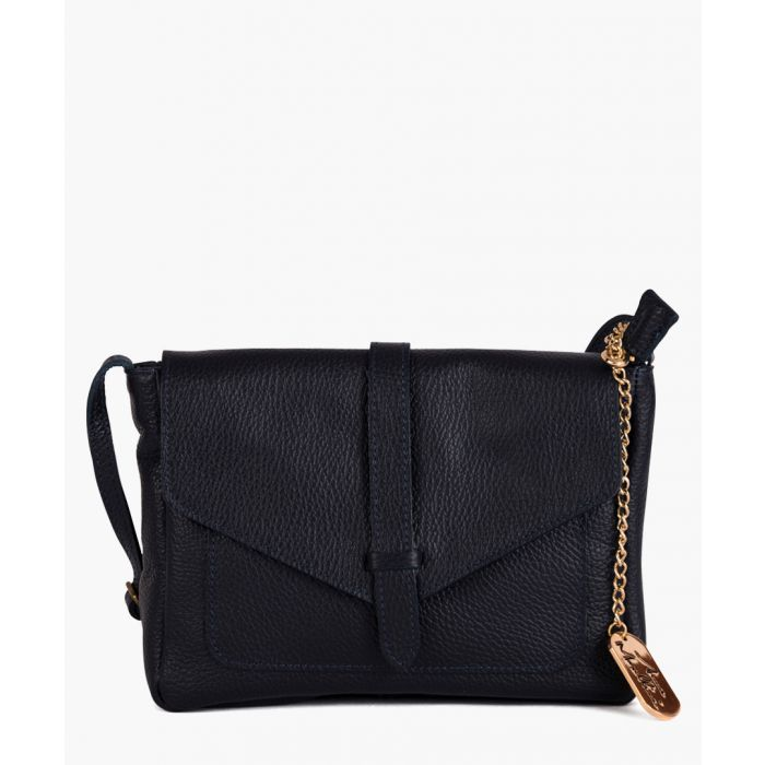 Image for Arianna navy shoulder bag