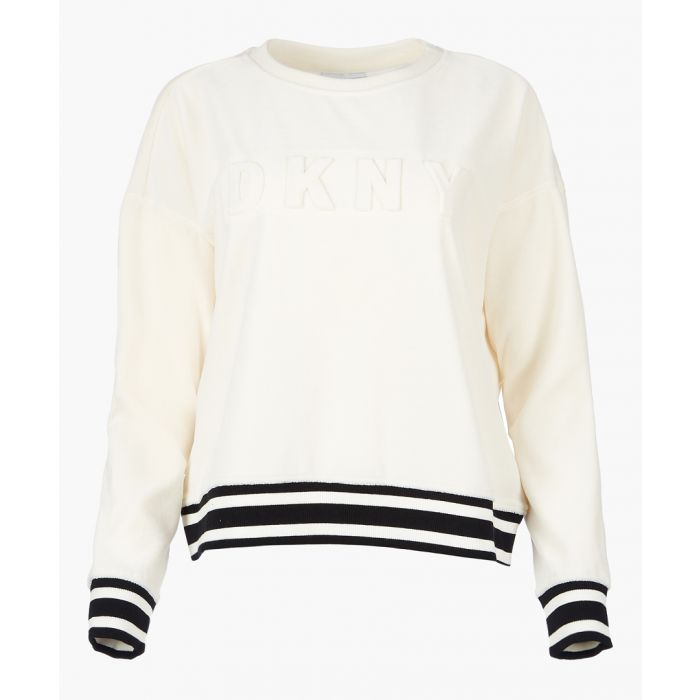 Image for Linin off-white boxy sweatshirt