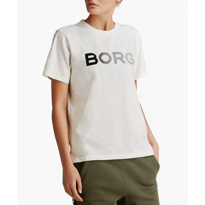 Image for B Sport white logo T-shirt