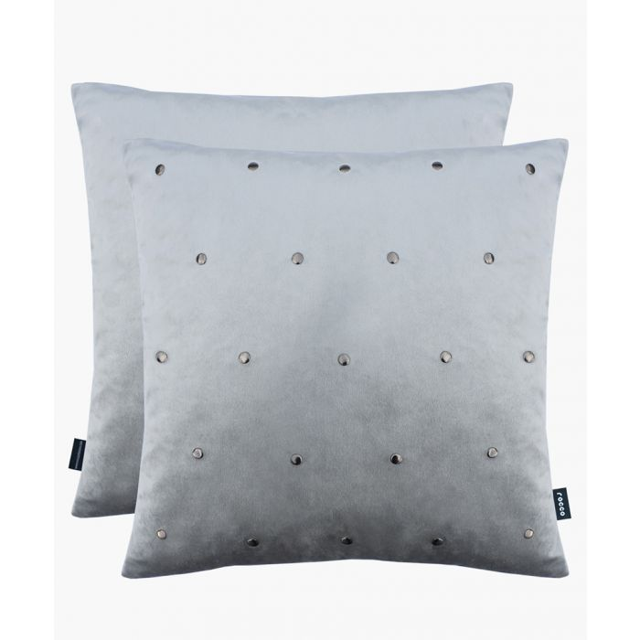 Image for Kensington grey cushion 43cm