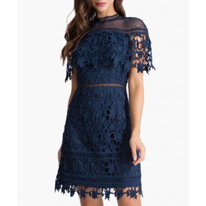 Image for Sassi navy mini dress