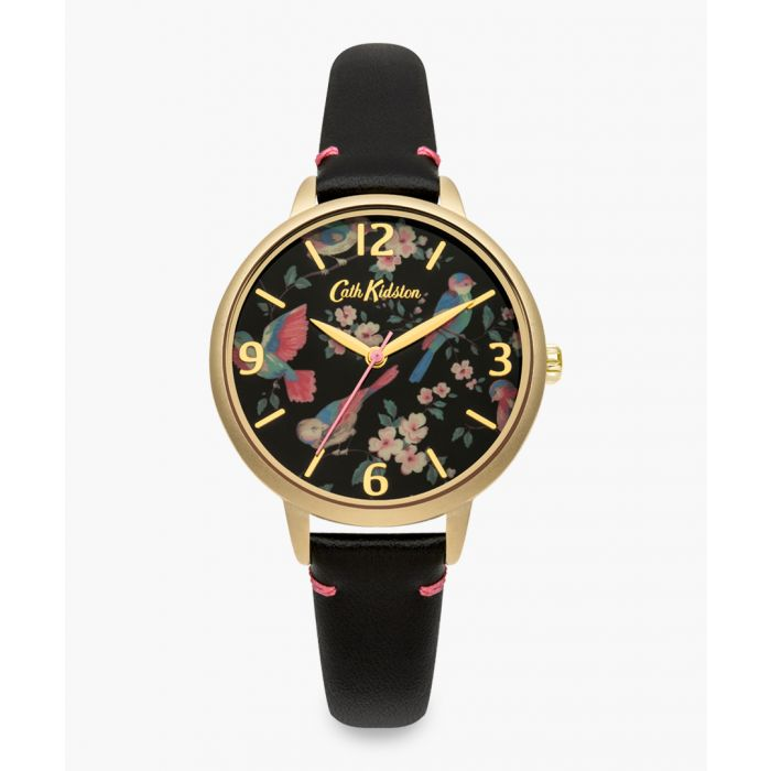 Image for Black floral watch