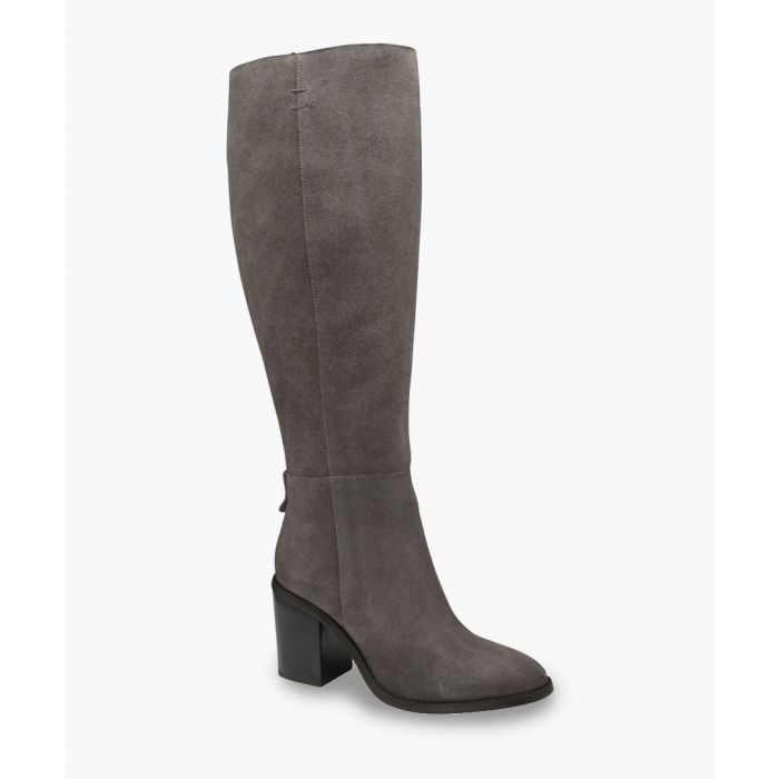 Image for Grey knee-high boots