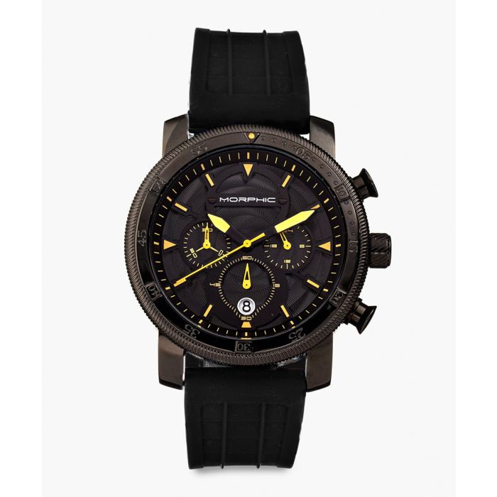 Image for M90 Series silicone and stainless steel chronograph watch