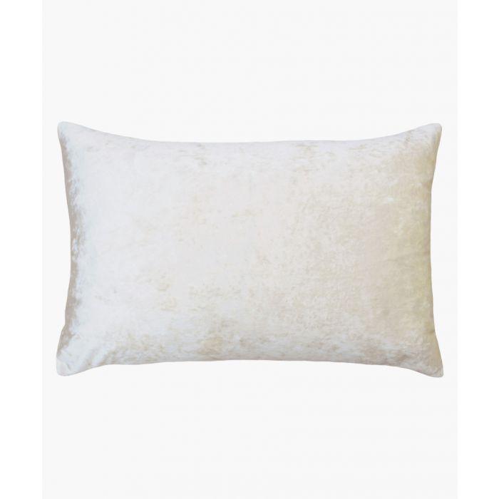 Image for Verona ivory rectangular cushion
