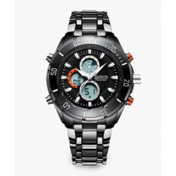Image for Premier Sport Black stainless steel watch