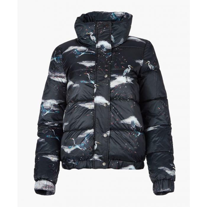 Image for Black down filled jacket