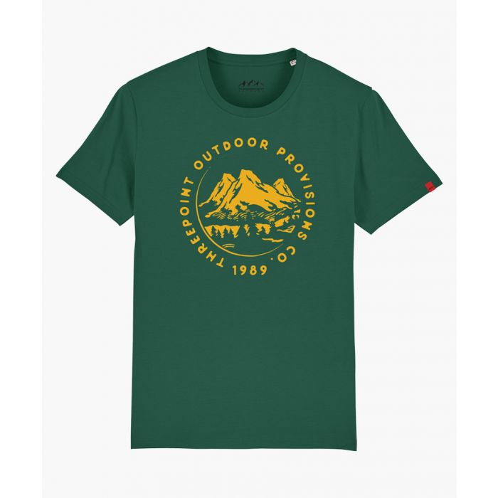 Image for Mountain Range green shirt