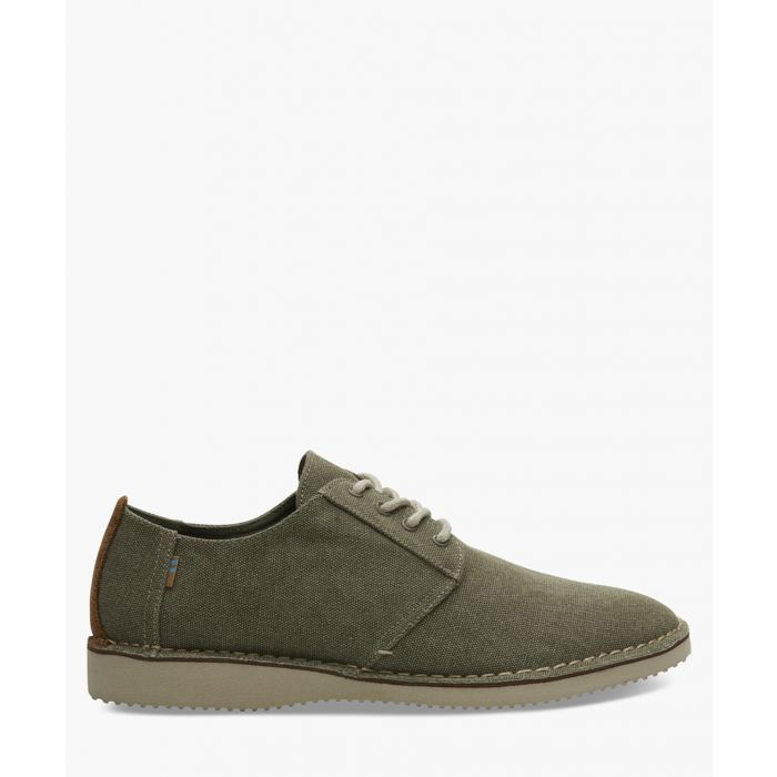 Image for Preston olive leather shoes