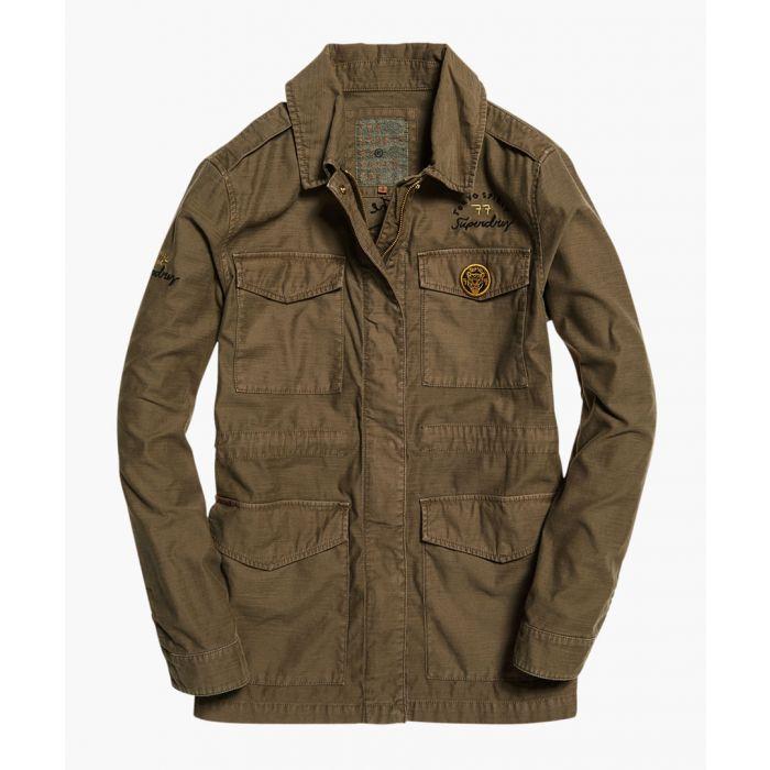 Image for Rookie khaki cotton slub 4 pocket  jacket