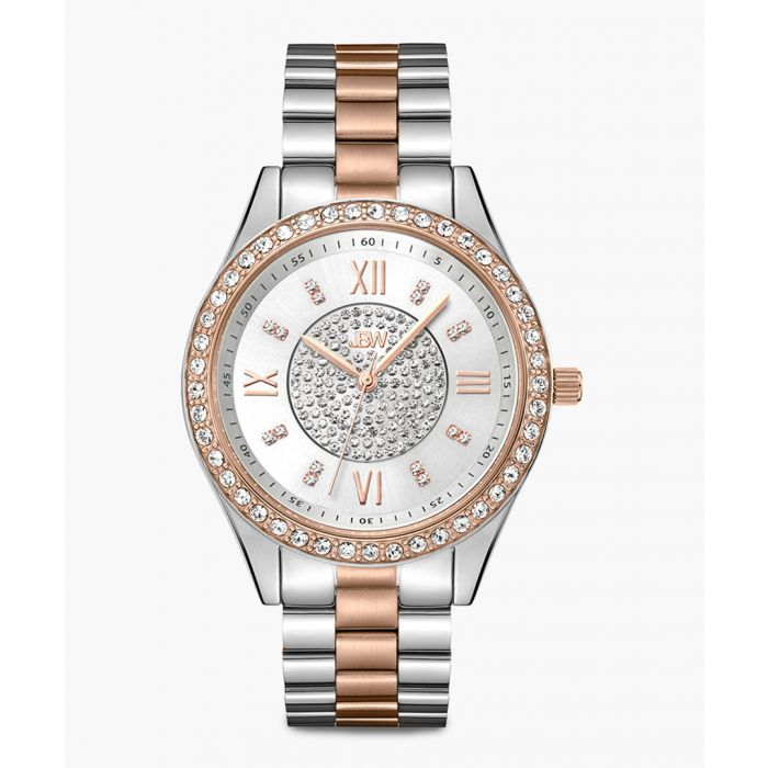 Image for Mondrian two-tone rose gold and stainless steel watch