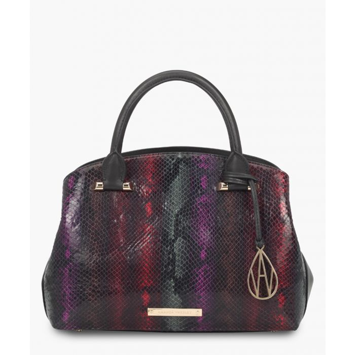 Image for Amanda Wakeley The Mini Hardy Bags Africa Print Python