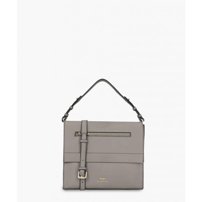 Image for Tagliamento white leather bag