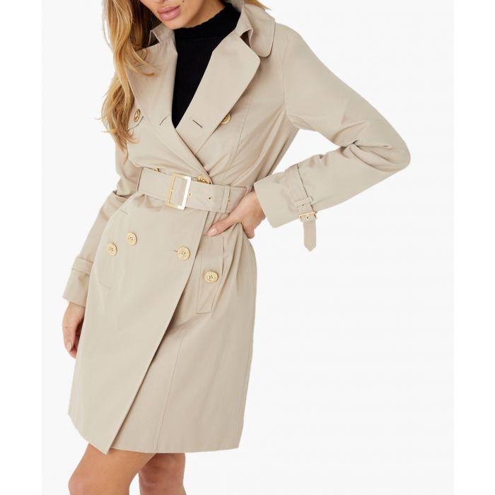Image for Stone beige mac coat