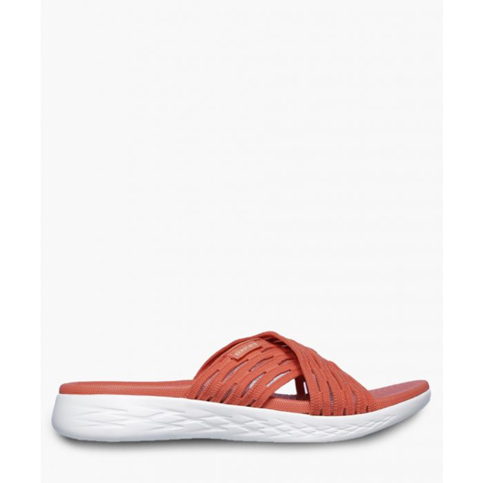 Image for On the go orange sandals