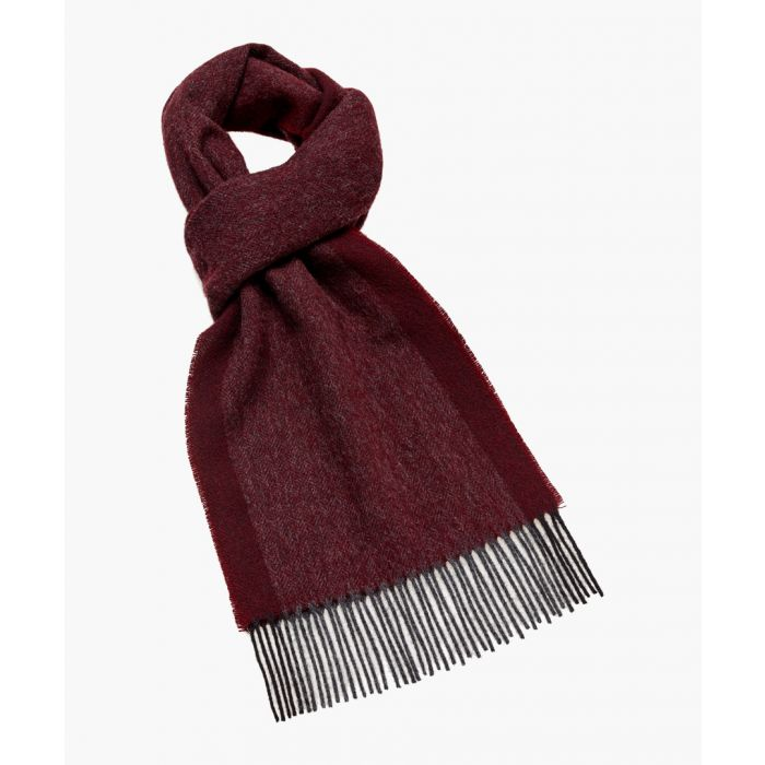 Image for Close wine pure wool scarf